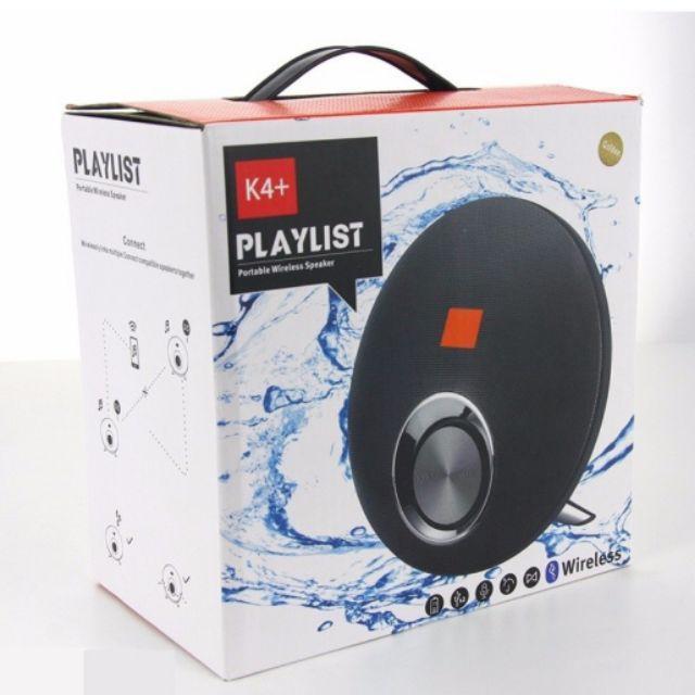 Loa bluetooth playlist K4+